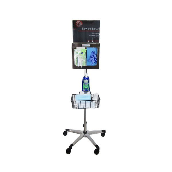 compact mobile sanitization station